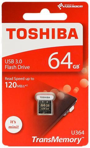TOSHIBA USB laikmena »U364 USB laikmena 3.0 64...