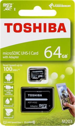 TOSHIBA MicroSDXC Atminties kortelė »microSDXC...