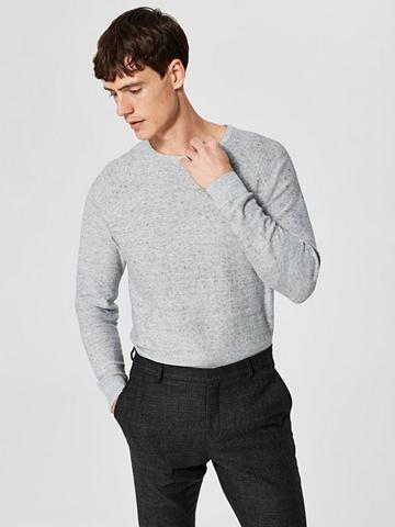 SELECTED HOMME Klasikinio stiliaus Megztinis