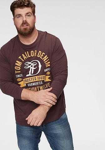 TOM TAILOR DENIM Tom Tailor Džinsai marškinėliai ilgomi...