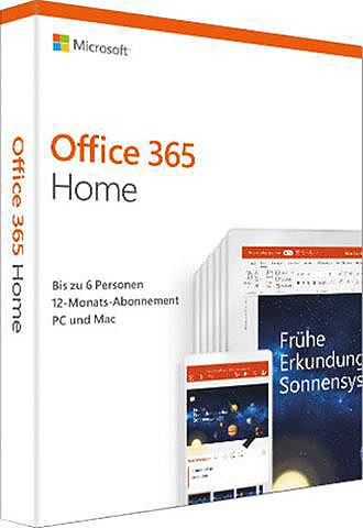 MICROSOFT Office 365 Home (Officeprogramm Downlo...