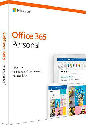 MICROSOFT Office 365 Personal (Officeprogramm Do...