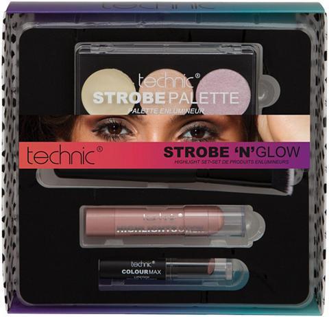 TECHNIC Highlighter-Palette 4 dalys ir lūpdaži...
