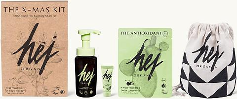 HEJ ORGANIC »THE X-MAS KIT« Gesichtspflege-Set (4 ...