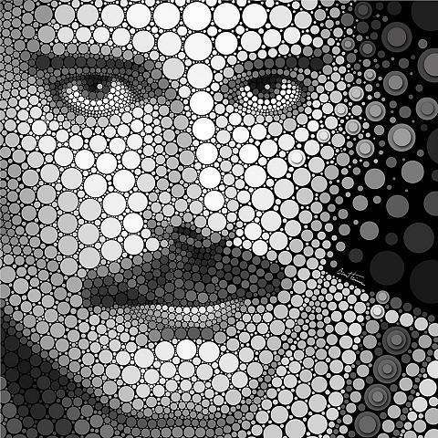 Plakatas Ben Heine »Circlism: Freddy M...
