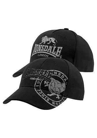Lonsdale Baseball Kepurė su snapeliu (Packung 2...