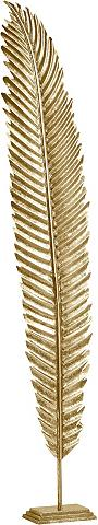 HOME AFFAIRE Dekoracija »Blatt gold ant Sockel«