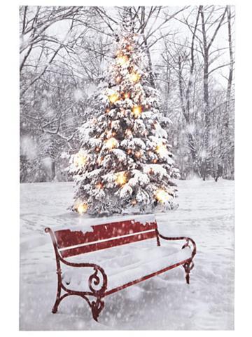heine home LED paveikslas Weihnachten