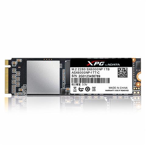 ADATA SSD intern »SX6000 SSD M.2 1TB PCIe Ge...