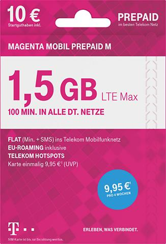TELEKOM Prepaid plokštė »MOBIL Prepaid M«