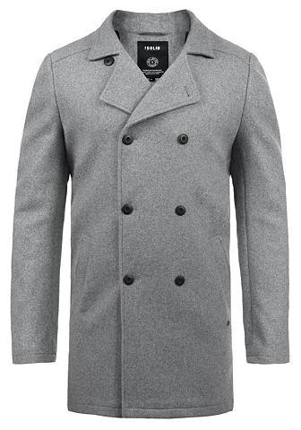 Solid Wollmantel »Harvey« paltas su doppelte...