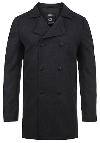 SOLID Vilnonis paltas »Harvey«