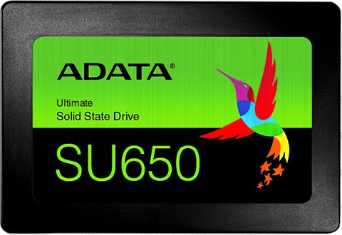 ADATA SSD intern »SSD 25 Ultimate SU650 480G...