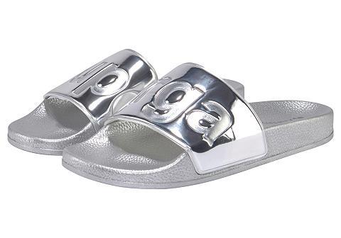 SUPERGA Maudymosi sandalai »Slides Metallic PV...