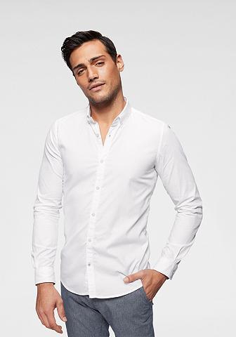 TOM TAILOR Marškiniai ilgomis rankovėmis su Butto...