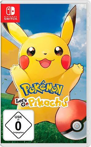 Nintendo Switch Pokémon: Let's Go Pikachu!