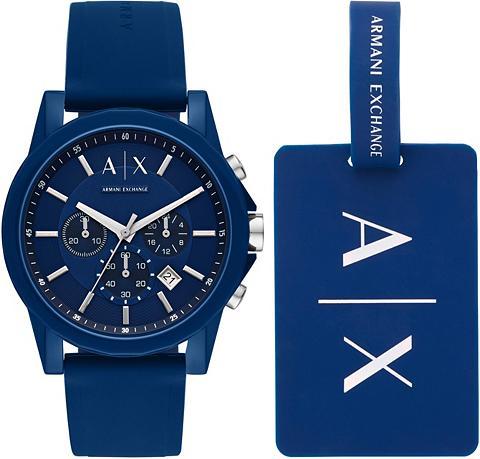 ARMANI EXCHANGE Chronografas- laikrodis »AX7107« (Rink...