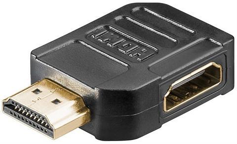 Goobay HDMI(TM)-Adapter 270° »vergoldet«