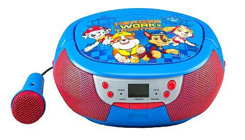 EKIDS E Kids CD grotuvas su Mikrofonas im PA...