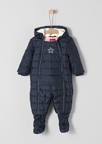 S.OLIVER RED LABEL JUNIOR Žieminis kostiumas su Plüschkapuze dėl...