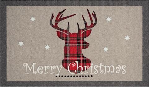 HANSE HOME Durų kilimėlis »Christmas Reindeer« re...