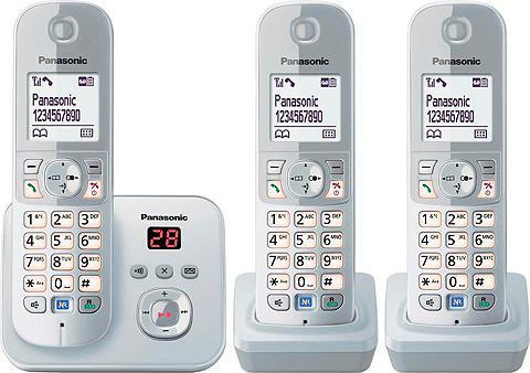 PANASONIC »KX-TG6823G TRIO« Bevielis DECT-Telefo...
