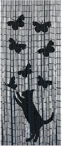 WENKO Türvorhang »Katze&Schmetterling« Haken...