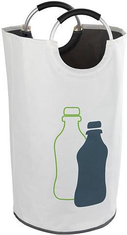 WENKO Flaschensammler Fassungsvermögen 69 Li...