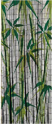 WENKO Türvorhang »Bamboo« Hakenaufhängung (1...