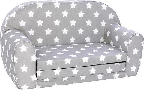 KNORR TOYS Vaikiška sofa »Stars white«