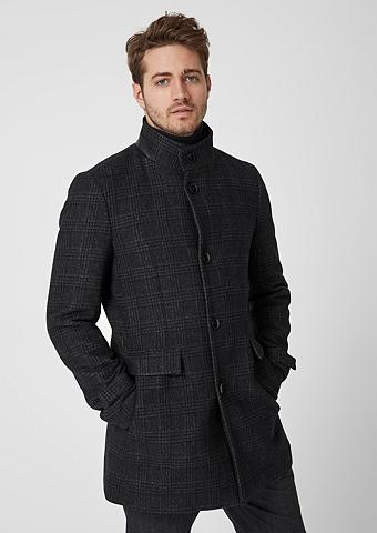 S.OLIVER BLACK LABEL Modern firma: Vilnonis paltas su stači...