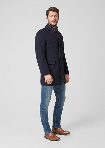 S.OLIVER RED LABEL Vilnonis paltas im Herringbone-Design