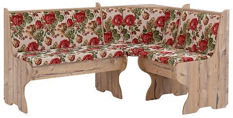 Home affaire Kampinis virtuvės suolas su kėdėmis »M...