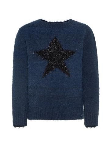NAME IT Flauschiger megztas megztinis