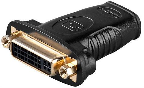 Goobay HDMI(TM)/DVI-I adapteris »vergoldet«