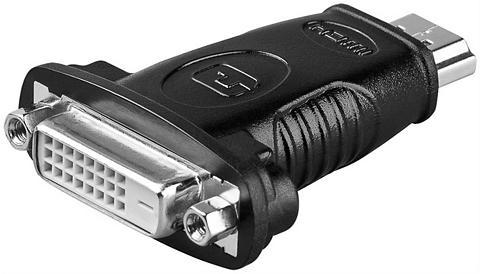 Goobay HDMI(TM)/DVI-D adapteris »vernickelt«