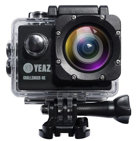 YEAZ »CHALLENGER 4K« Action Cam (WLAN (Wi-F...