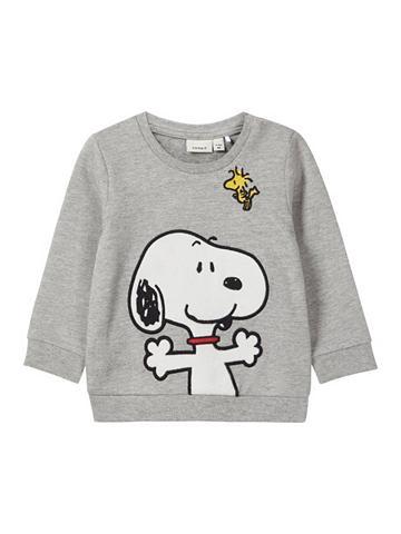 NAME IT Snoopy Sportinio stiliaus megztinis