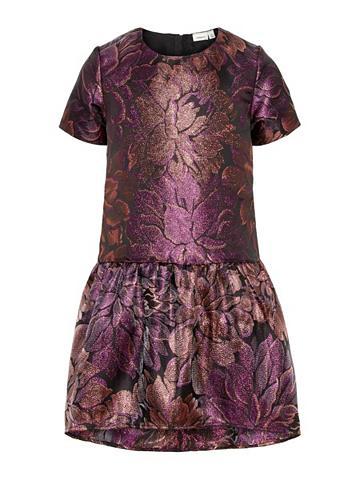 NAME IT Florales blizgiu papuošimu suknelė