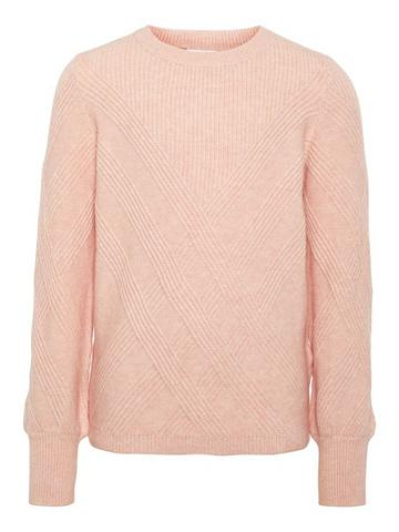 NAME IT Gemusterter megztas megztinis