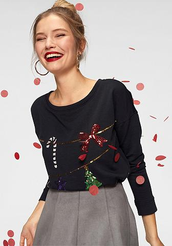 ONLY Sportinio stiliaus megztinis »SHIMMER ...