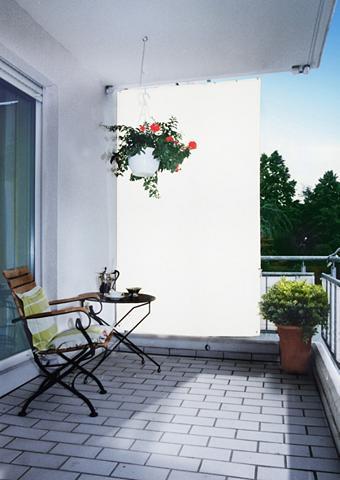 FLORACORD Balkono sienelė Bx H: 140x230 cm weiß