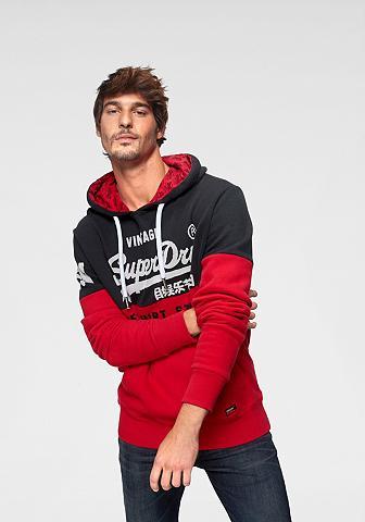 SUPERDRY Sportinis megztinis su gobtuvu »SWEAT ...