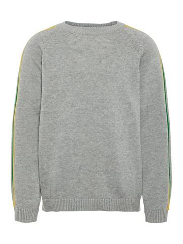 NAME IT Dryžuotas megztinis