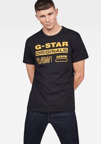 G-STAR RAW Palaidinė apvalia iškirpte »Swando«