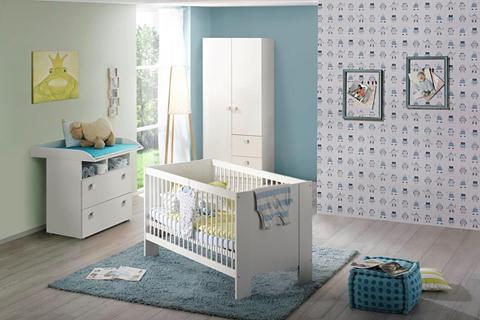 Babyzimmer-Komplettset »Hiddensee« (Sp...