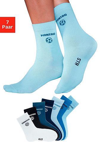 H.I.S Socken (7-Paar) dėl Kinder su Fußballm...