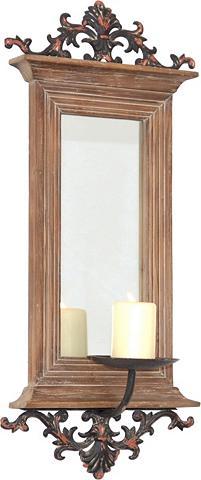 HOME AFFAIRE Sieninis veidrodis su Žvakidė Maße (B/...