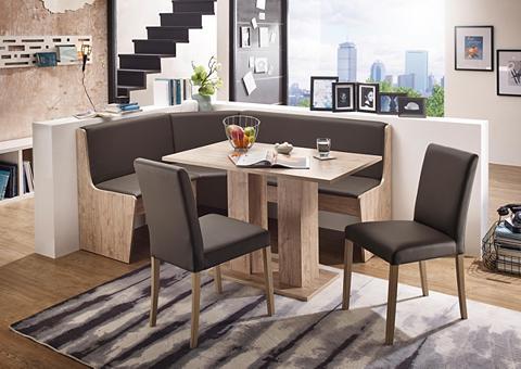 Kampinis virtuvės suolas su kėdėmis »S...