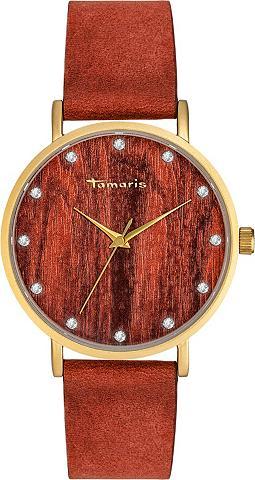 TAMARIS Laikrodis »Alva wood gold TW032«